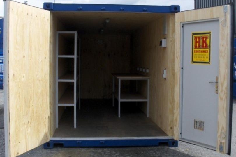 Verkstedscontainer