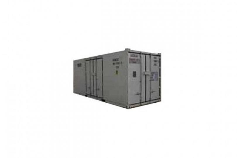 Container for eksplosiver