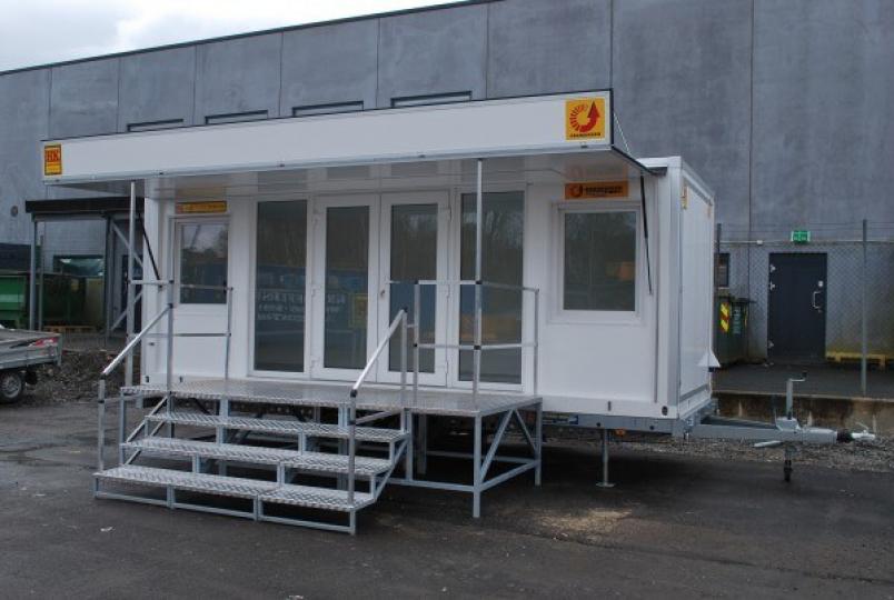 Containerhenger Showroom 20′