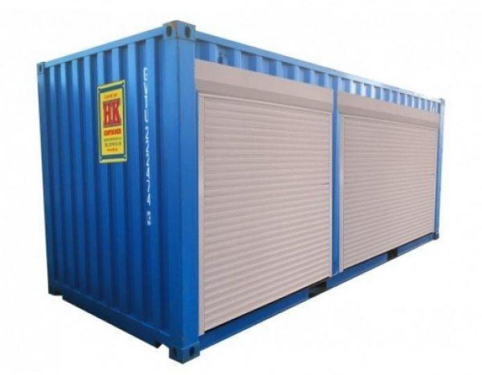 Containerhenger LC rulleporter på en side 20