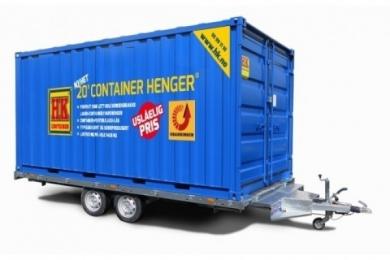 Standard henger på container 32,9 m3