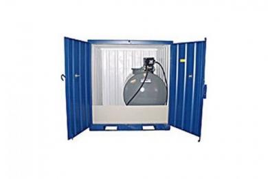 Miljø og lagercontainer